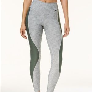 Nike Sculpt Hyper Tight Fit Leggings Pants Gray